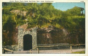 Alum Park Soda Springs San Jose California #5215 1920s Postcard Pacific 10097