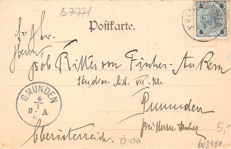 B7771 Austria OO Kremsmunster Fechtzimmer im Convict