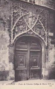 France Avignon Porte de l'Ancien College de Roure