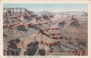 Arizona Grand Canyon Grand View Point  Fred Harvey