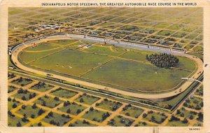Indianapolis Motor Speedway, Indiana, USA Auto Race Car, Racing Postcard Unused