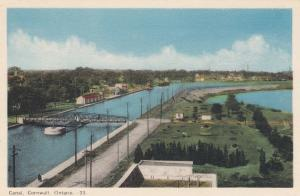 CORNWALL , Ontario , Canada , 1930s ; Canal