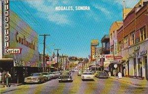 Mexico Sonora Nogales Obregon Street