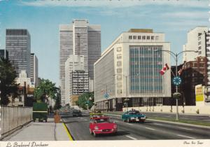 Dorchester Boulevard , MONTREAL, Canada , 60-80s