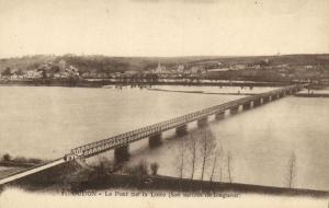 CPA OUDON Le Pont sur la Loire (150508)