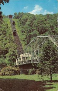 Johnstown Pennsylvania~Inclined Plane on Johns Street~Carts Going up Hill~1964