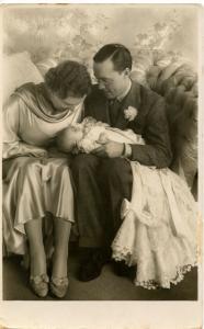 Dutch Royalty -  Prince Bernhard and Juliana and Princess Beatrix  *RPPC     ...