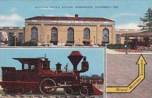 California Sacramento Southern Pacific Station