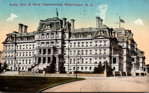 Washington D C State War and Navy Departments 1914