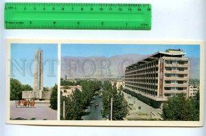 228813 Tajikistan Leninabad Khujand Lenin street old postcard
