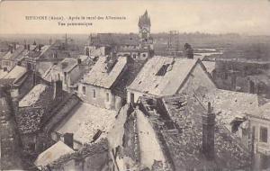 Apres Le Recul Des Allemands, Vue Panoramique, Sissonne (Aisne), France, 1900...