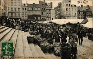 CPA LISIEUX Le Marché (863252)