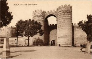CPA Avila Arco de San Vicente SPAIN (744129)