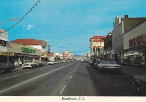 Main Street , KAMLOOPS , B.C. , Canada , 50-70s
