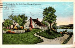 Virginia Wakefield The Birth Place Of George Washington 1927
