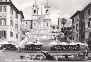 Italy Roma Rome Trinita dei Monti