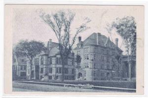 Emma Willard Seminary Troy NY PMC 1900c postcard