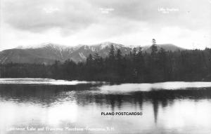 FRANCONIA, NEW HAMPSHIRE LONESOME LAKE & FRANCONIA MTNS RPPC REAL PHOTO P.C.