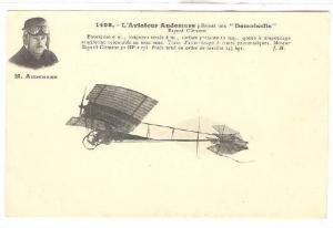 M. Audemars, L'Aviateur pilotant une Demoiselle Aeroplane, 00-10s