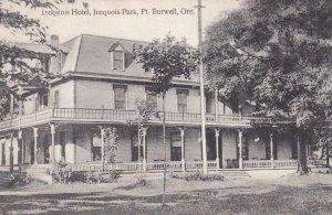 PT. BURNWELL , Ontario , Canada , 00-10s ; Iroquois Hotel , Iroquois Park