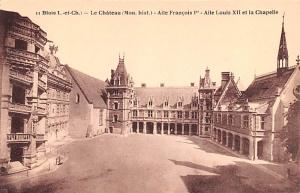 Blois France Le Chateau, Aile Francois I Blois Le Chateau, Aile Francois I