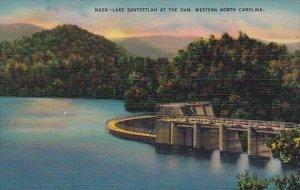 Lake Santeetlah At The Dam Western North Carolina
