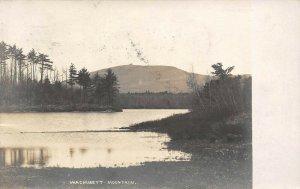 LP19  Wachusett Mountain Massachusetts  Vintage Postcard RPPC
