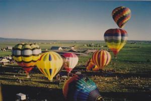 Balloon Festival , Teton Valley Fair , Driggs , Idaho , 1994 #1