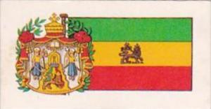 Brooke Bond Tea Trade Card Flags &  Emblems No 48 Ethiopia