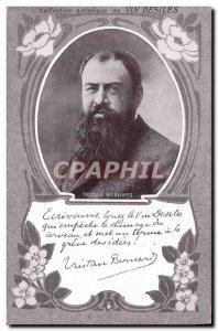Old Postcard Tristan Bernard Wine Desiles