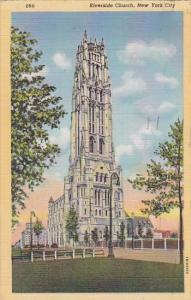 New York City Riverside Church 1949