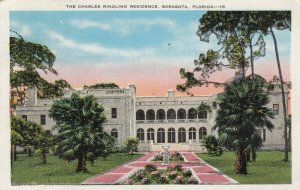 SARASOTA, Florida, 1936; Charles Ringling Residence