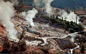 California Lassen Volcanic National Park The Sulphur Works
