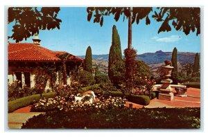 Postcard Hearst San Simeon CA - Snowy Carrara/Marble Carvings M18