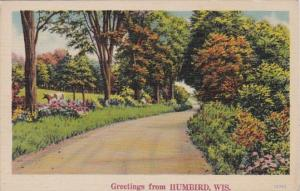 Wisconsin Greetings From Humbird