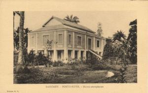 CPA Dahomey Afrique - Porto-Novo - Maison européenne (86745)