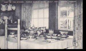 Vermont Weston Part Of The Kitchen Farrar Mansur House Artvue