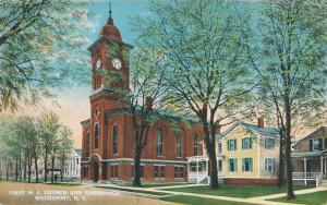 Methodist Church and Parsonage - Weedsport NY, New York - DB