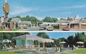 2-Views, Swimming Pool, Magnolia Motor Hotel and Restaurant, VICKSBURG, Missi...