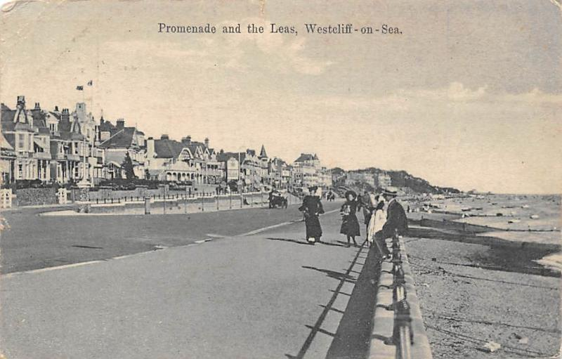 UK Westcliff-on-Sea, Promenade and the Leas 1907
