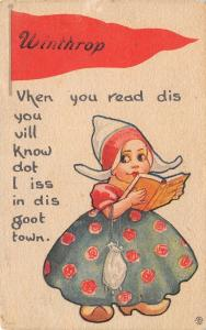 Winthrop IA Vhen You Read Dis, You Will Know Dot I Iss In Dis Goot Town~1914