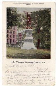 Volunteers` Monument, Halifax, Nova Scotia