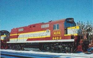American Locomotive Company No 640-2 Demonstrator ALCO RS-27