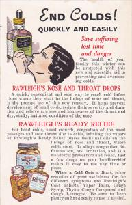 Rawleigh Products Freeport Illinois Medicated Ointment Mustard Compound Vapor...