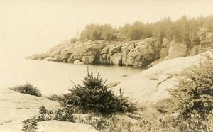 ME - Wiscasset Shoreline - RPPC