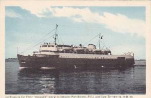 Ice Breaking Car Ferry, M.V.ABEGWEIT , Port Borden, PEI , Canada , 30-40s #2