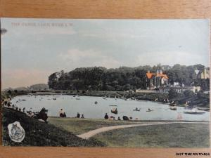 c1910 - The Canoe Lake Ryde - Isle of Wight