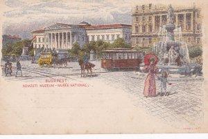 BUDAPEST , Hungary, 1900-1910s; Nemzeti Muzeum