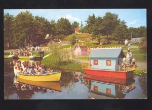 LAKE GEORGE NEW YORK STORYTOWN USA AMUSEMENT PARK RIDE