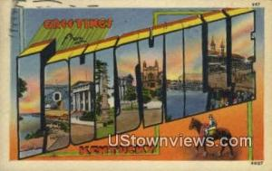 Greetings from Louisville KY 1945